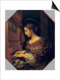 St. Cecilia Prints by Carlo Dolci