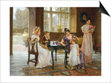 The Time of Roses, c.1901 Prints by Charles Haigh-Wood