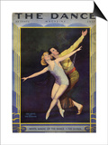 1920s USA The Dance Magazine Cover Prints