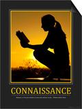 Connaissance (French Translation) Reprodukcje