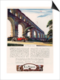 Cadillac La Salle, Magazine Advertisement, USA, 1928 Posters