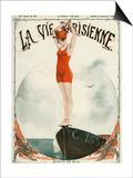 La Vie Parisienne, Georges Leonnec, 1919, France Print