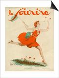Le Sourire, 1930, France Print