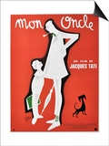 "My Uncle, 1958, ""Mon Oncle"" Directed by Jacques Tati Prints"