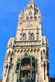 The Marienplatz and City Hall in Center Munich Prints by  Gary718