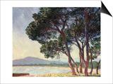La Plage de Juan-Les-Pins, 1888 Posters by Claude Monet