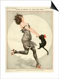 La Vie Parisienne, C Herouard, 1923, France Poster