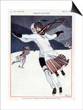 La Vie Parisienne, A Vallee, 1923, France Prints
