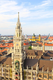 The Aerial View of Munich City Center Print by  Gary718