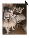 Ballet Rehearsal, c.1874 Print by Edgar Degas
