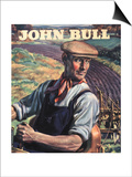 John Bull, Farming Tractors Magazine, UK, 1946 Prints