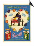 1950s UK Pascall Magazine Advertisement Print