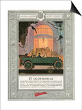 Oldsmobile, Magazine Advertisement, USA, 1920 Prints