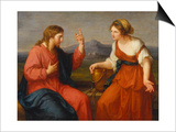 Christ and the Samaritan Woman at the Well, 1796 Posters by Angelica Kauffmann