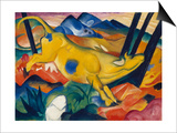 Yellow Cow, 1911 Poster by Franz Marc