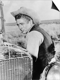 "James Dean. ""Giant"" 1956, Directed by George Stevens Print"