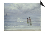 Boys Bathing on the Beach at Skagen, 1899 Posters by Peder Severin Kröyer