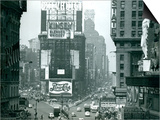 View of Times Square, New York, USA, 1952 Posters