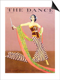 The Dance, Ruth St Denis, 1929, USA Poster
