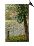 Morning Stroll Prints by Georges Seurat