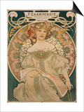 Poster for F. Champenois, 1897 Poster by Alphonse Mucha