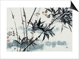 Birds in Winter Morning Posters by Wanqi Zhang