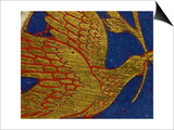 Dove with Olive Leaf, from the Panel Noah's Ark of the Verdun Altar Posters by  Nicholas of Verdun