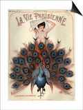 1920s France La Vie Parisienne Magazine Cover Posters