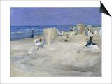 Am Strand Von Nordwijk, 1908 Art by Max Liebermann