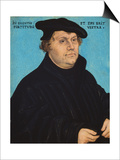 Martin Luther, 1532 Prints by Lucas Cranach the Elder