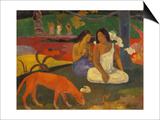 Arearea (The Red Dog), 1892 Posters by Paul Gauguin