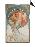 The Arts: Poetry, 1898 Prints by Alphonse Mucha