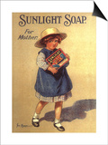 Sunlight Soap, UK, 1920 Posters