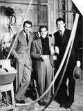 """Cary Grant, Frank Capra, James Stewart. """"The Philadelphia Story"""" 1940, Directed by George Cukor Prints"""