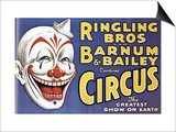 Barnum and Bailey's Circus, USA Prints