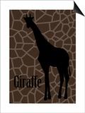 Giraffe Posters by Ikuko Kowada