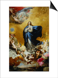 Immaculate Conception Posters by Jusepe de Ribera