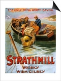 1900s UK Strathmill Poster Posters