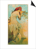 Seasons: Summer, 1896 Posters by Alphonse Mucha
