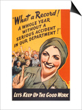 What a Record! WWII Poster Prints