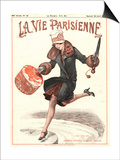 La Vie Parisienne, Erotica Glamour Art Deco Shopping Womens Magazine, France, 1927 Prints