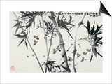 Birds Returning Bamboo Forest Prints by Wanqi Zhang