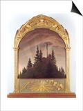 Tetschener Altar Posters by Caspar David Friedrich