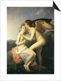Amor Und Psyche Art by Francois Gerard