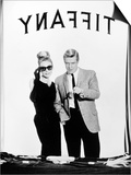 """Audrey Hepburn, George Peppard. """"Breakfast At Tiffany's"""" 1961, Directed by Blake Edwards Prints"""