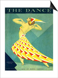 The Dance, Albertina Vitak, 1929, USA Print