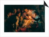 The Dentist Print by Gerrit van Honthorst