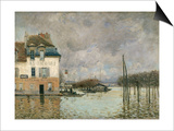 Flood of Port-Marly, c.1876 Prints by Alfred Sisley