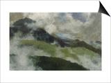 Aufsteigende Nebel, 1903 Posters by Franz Marc