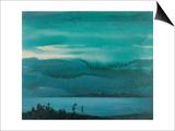 Lake Prints by Yunlan He